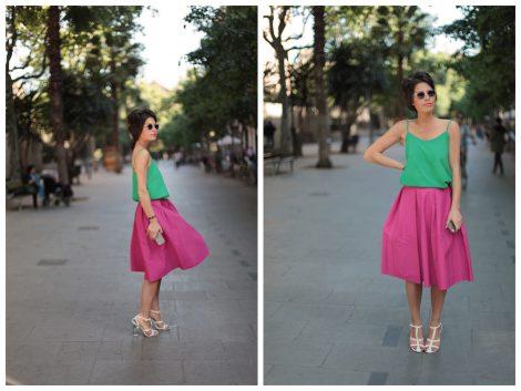 Verde Y Audrey Leighton Y Rosa Verde Rosa XZuTOkiP