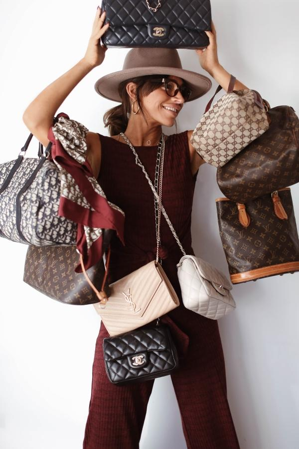 I love designer handbags. They are my weakness. But I d also love a house  in Ibiza one day f296a75931de3